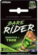 Bare Rider Condoms 3pk 12/box