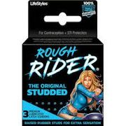 Rough Rider Condoms 3pk 12/box