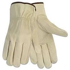 Cow Grain Driver Glove6 Pairs / Large