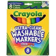 Crayola Washable Marker 8ct, 12bx