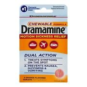 Dramamine Ref Blister pk 6 cards of 2-2pks