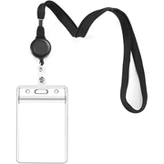 Extendable Landyard ID Holder 12/ct (vertical) Assorted Colors