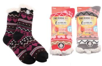Lady Extra Thick Therma Socks12/box