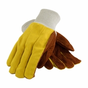 Leather Palm Gloves 12/pk