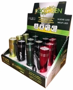 LED Go Green Flashlight 12/Box