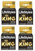 Lifestyles King Condoms3pk, 48/bx