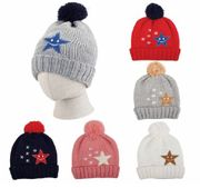 Little Kids Pom Pom Hat 12/bx