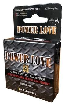 Power Love Condoms12 box