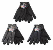 Men Ski Gloves w/Zipper Pocket 12bx