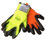 Gloves Latex Coated Bright Colors 12/bx