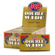 JOb Double Wide Cigarette Paper 24/bx