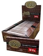 Job Brown 1.25 Cigarette Paper 24/box
