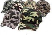 Camouflage Hats 12/bx