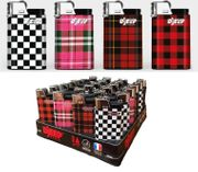 Djeep Plaid Lighters 24/tray
