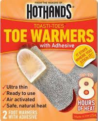 Toe Warmers w/adhesive 40/box