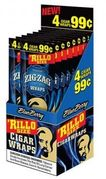 Zig Zag Cigarillo Blueberry 15/bx 4/99c