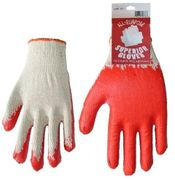 Superior Red Coated Work Gloves 10 Pairs