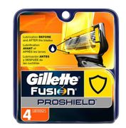 Gillette Fusion Proshield Cartridge Refill 4ct, 6 box