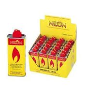 Neon Lighter Fluid 133ml/4.5oz 24/bx