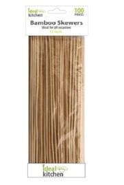 """Bamboo BBQ Skewers 100ct 12"""" 12/bx"""