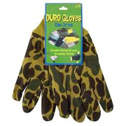 Camouflage Jersey Work Gloves 6-Pairs