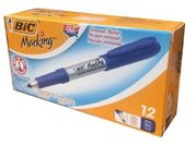 Bic MarkerBlue Fine Point 12/bx