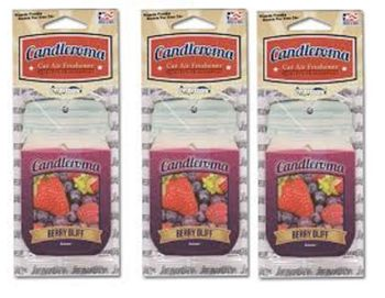 Candleroma Air FreshenerBerry Bliff 12/bx