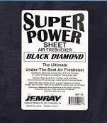 Super Power 1/2 SheetBlack Diamond 6/Box