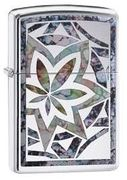 Zippo Marijuana Stained Glass