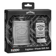 Zippo Jack Daniels Flask & lighter Set
