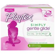 Playtex Tampons Super 8ct, 12/bx