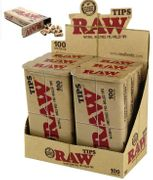 Raw Pre-Rolled Tip 100ct6/Box Tin Cans