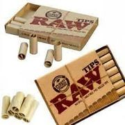Raw Pre-Rolled Tips 21ct 20/bx