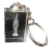 Religious Crystal-Like Keychain 12crd