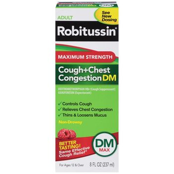 Robitussin DM 4oz, 3pk