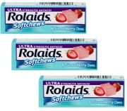 Rolaids Ultra SoftChewStrawberry 12 bx