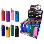 Rubberized Electric Torch Lighter