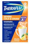 Thera Flu Severe NightTime Cold & Cough 6/ct 3/box