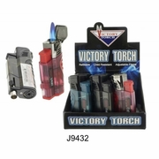 Victory 3 Torch Lighter w/Cigar Puncher 12 box
