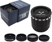 Viking Axe 63mm 4 Part Heavy Duty Grinder (Price is for 1pc)