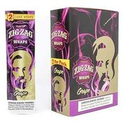 ZigZag Wraps Purple Grape