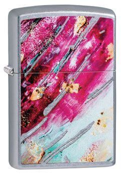 Zippo Colorful Art Pink