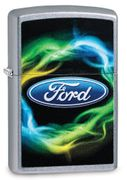 Zippo Ford Lighter - Electrified - Blue Oval Logo