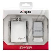 Zippo Gift Set Flask & Lighter