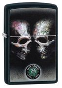 Zippo Tattoo Skull by Anne Stokes (Retail $31.95)