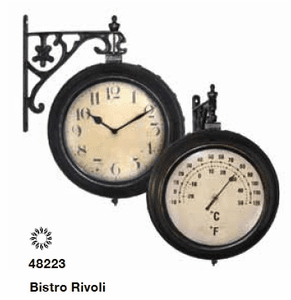 Double Sided Bistro Clocks
