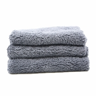 Speed Master Cloud 9 Microfiber Buffing Towel - Gray - 3 Pack