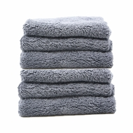 Speed Master Cloud 9 Microfiber Buffing Towel - Gray - 6 Pack