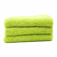 Speed Master Cloud 9 Microfiber Buffing Towel - Green - 3 Pack