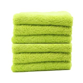 Speed Master Cloud 9 Microfiber Buffing Towel - Green - 6 Pack